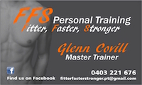 Meet Your Personal Trainer FFS personal training in Wellington Point QLD